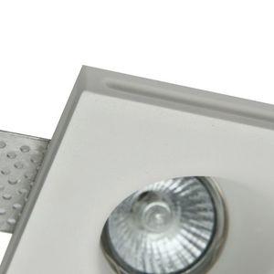 Recessed ceiling luminaire Maytoni Gyps Modern DL002-1-02-W small 0