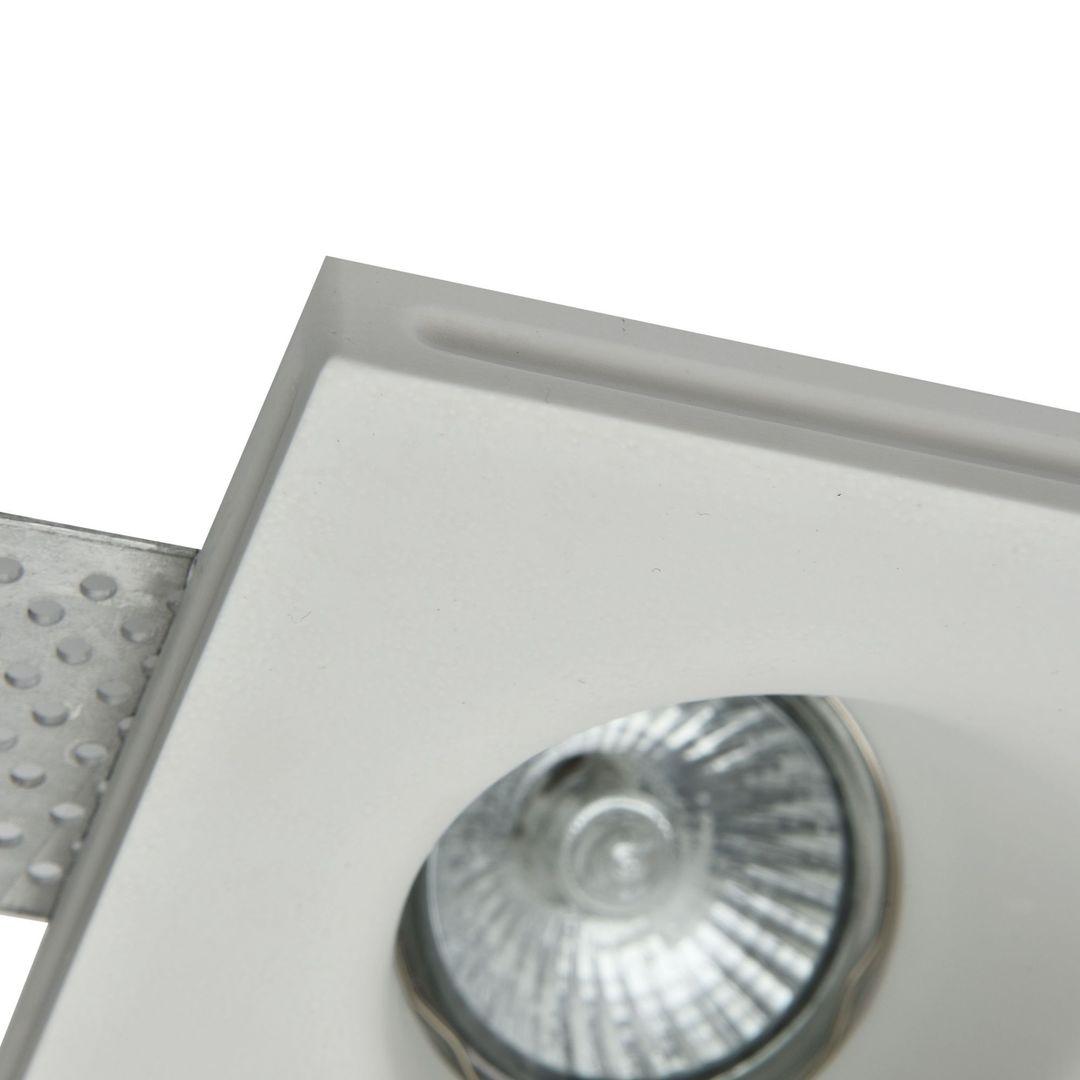 Recessed ceiling luminaire Maytoni Gyps Modern DL002-1-02-W