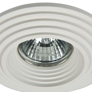 Recessed ceiling luminaire Maytoni Gyps Modern DL004-1-01-W small 1