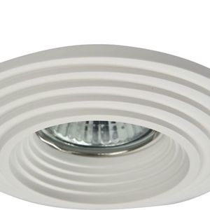 Recessed ceiling luminaire Maytoni Gyps Modern DL004-1-01-W small 2