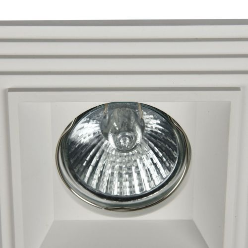Recessed ceiling luminaire Maytoni Gyps Modern DL005-1-01-W