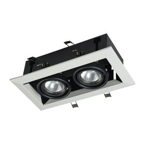 Recessed ceiling luminaire Maytoni Metal Modern DL008-2-02-W small 1