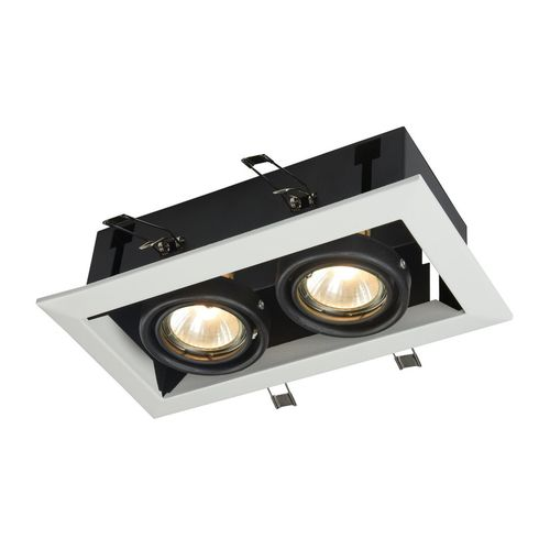 Recessed ceiling luminaire Maytoni Metal Modern DL008-2-02-W