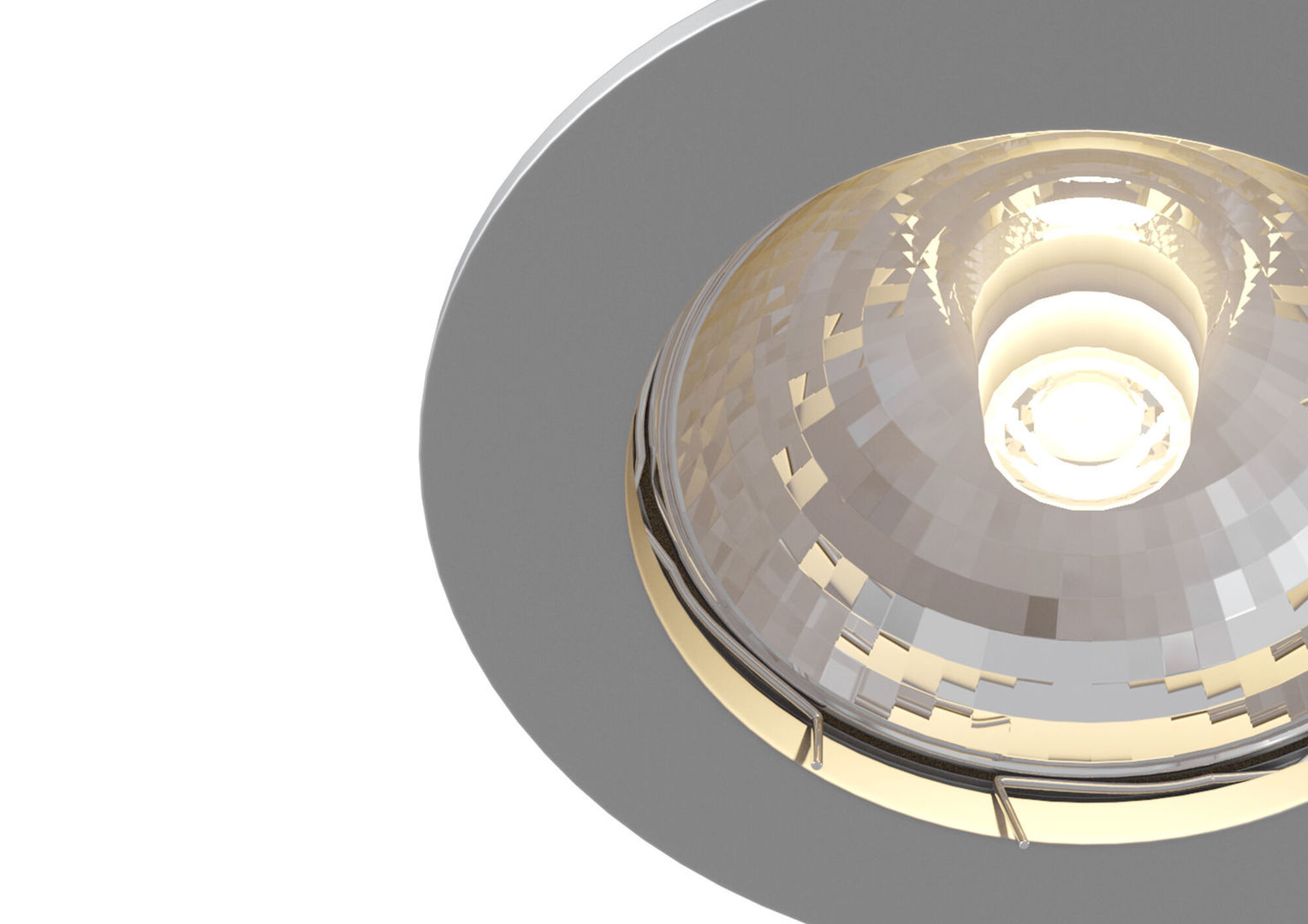 Recessed ceiling luminaire Maytoni Metal Modern DL009-2-01-CH