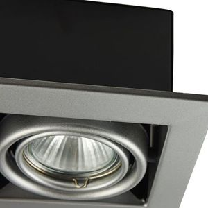 Recessed ceiling luminaire Maytoni Metal Modern DL008-2-01-S small 1