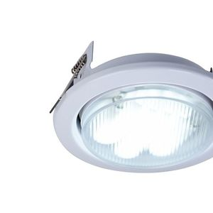 Recessed ceiling luminaire Maytoni Metal Modern DL293-01-W small 3