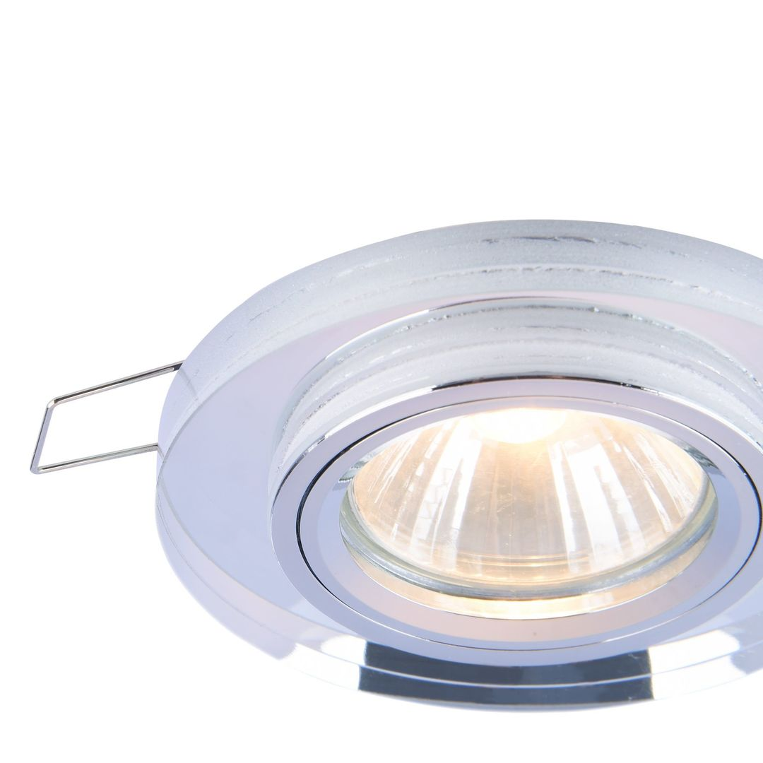 Recessed ceiling luminaire Maytoni Metal Modern DL289-2-01-W