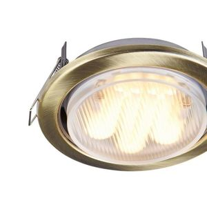 Recessed ceiling luminaire Maytoni Metal Modern DL293-01-BZ small 2