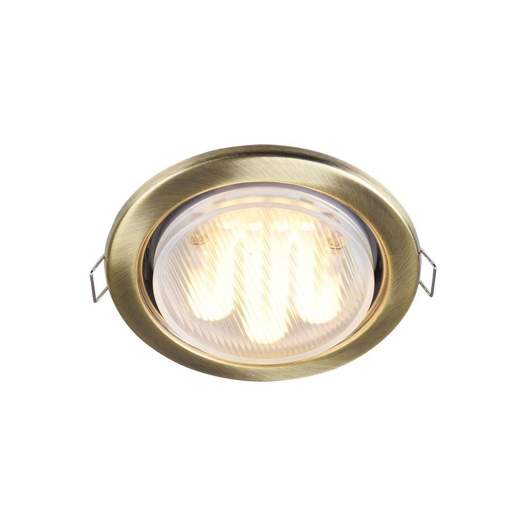 Recessed ceiling luminaire Maytoni Metal Modern DL293-01-BZ