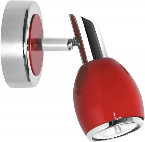 Wall lamp Red Colors Chrome GU10 50W
