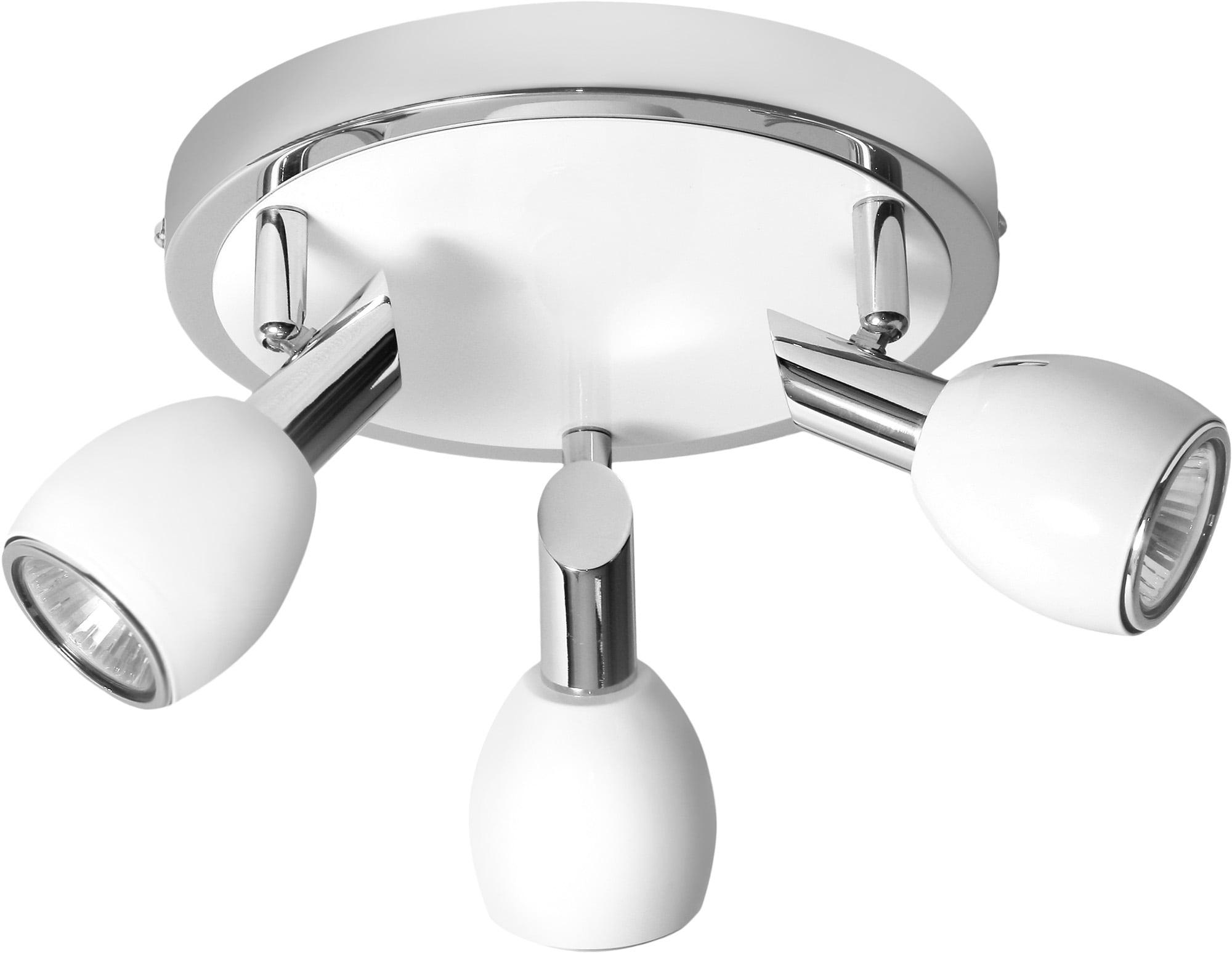 Ceiling lamp Spotlights White Colors Chrome GU10