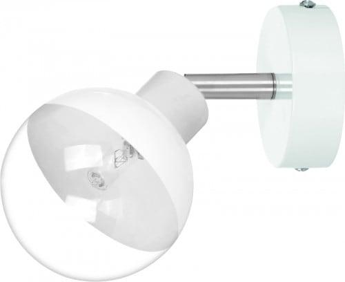 White Wall Lamp Glass Ball Ginos G9 28W