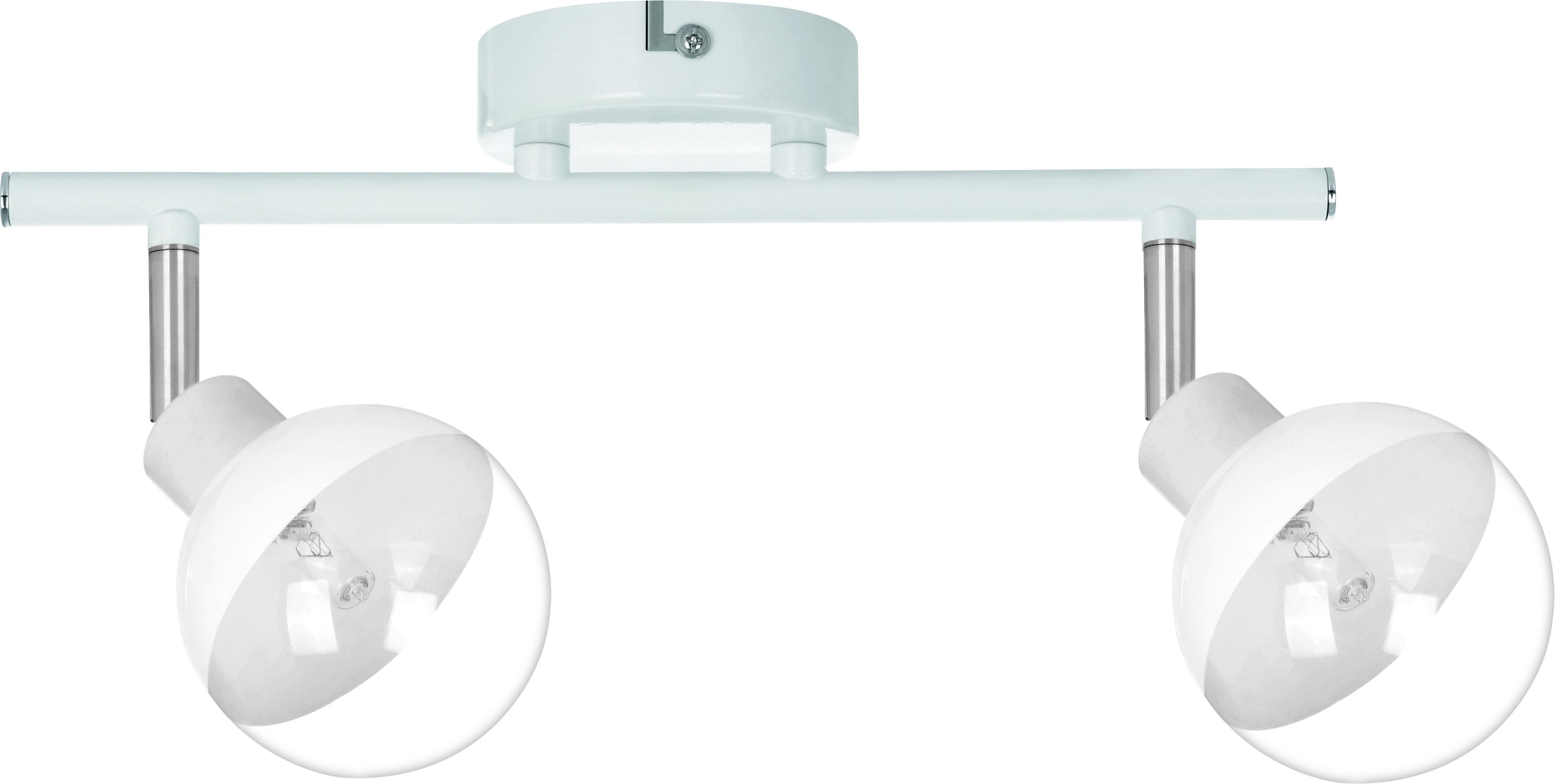 Plafon-Slat spot White Ginos chrome G9 28W