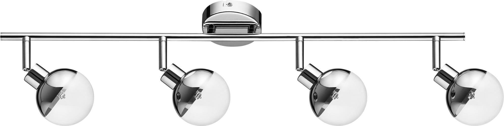 Modern Chrome Plafon - Ginos 4-spot G9 28W reflector