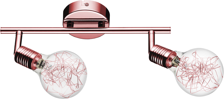 Plafon-Reflector Bulbs 2-arm color copper G9 28W