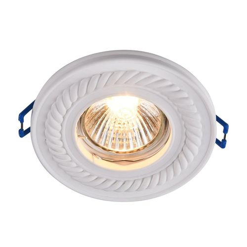 Recessed ceiling luminaire Maytoni Gyps Classic DL283-1-01-W