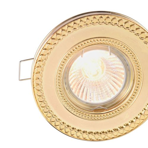 Recessed ceiling luminaire Maytoni Metal Classic DL302-2-01-G