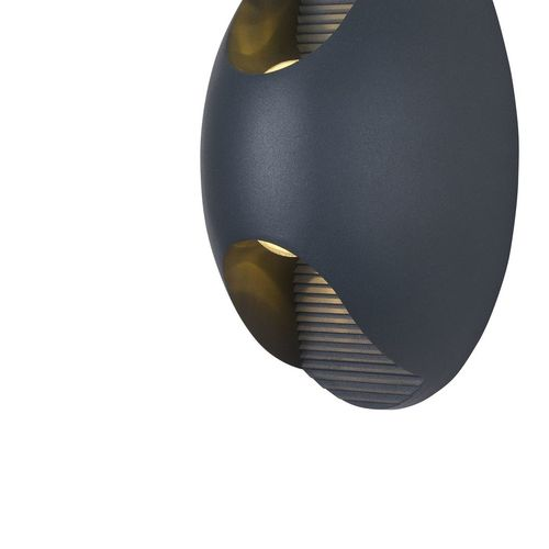 Outdoor Wall Lamp Maytoni Times Square O594WL-L6GR