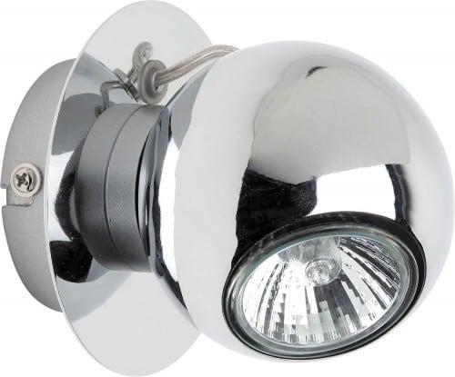 Kinkiet LED Chromowana Kula Sergio GU10 4,5W
