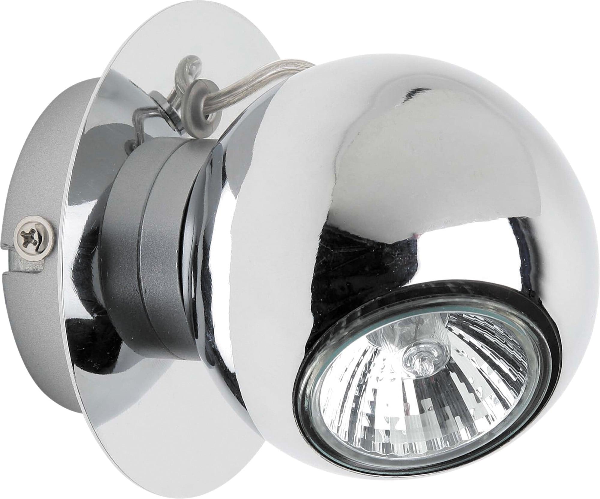 LED wall light Chrome Plated Sergio GU10 4,5W