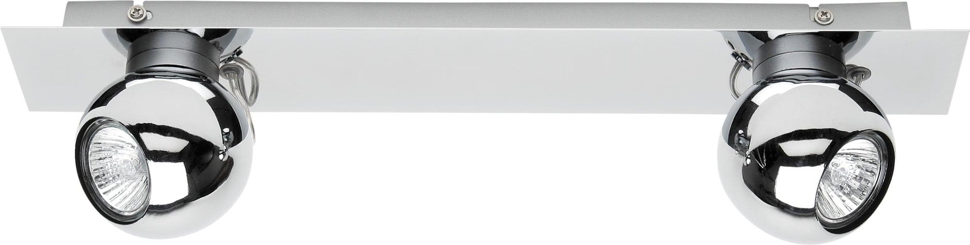 Chrome 2 Reflectors Sergio LED GU10 4,5W
