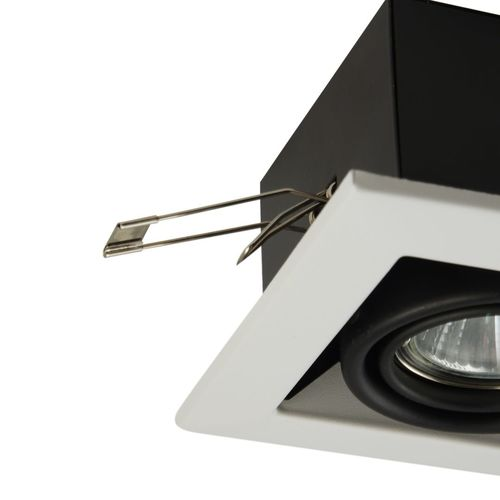 Recessed ceiling luminaire Maytoni Metal Modern DL008-2-01-W