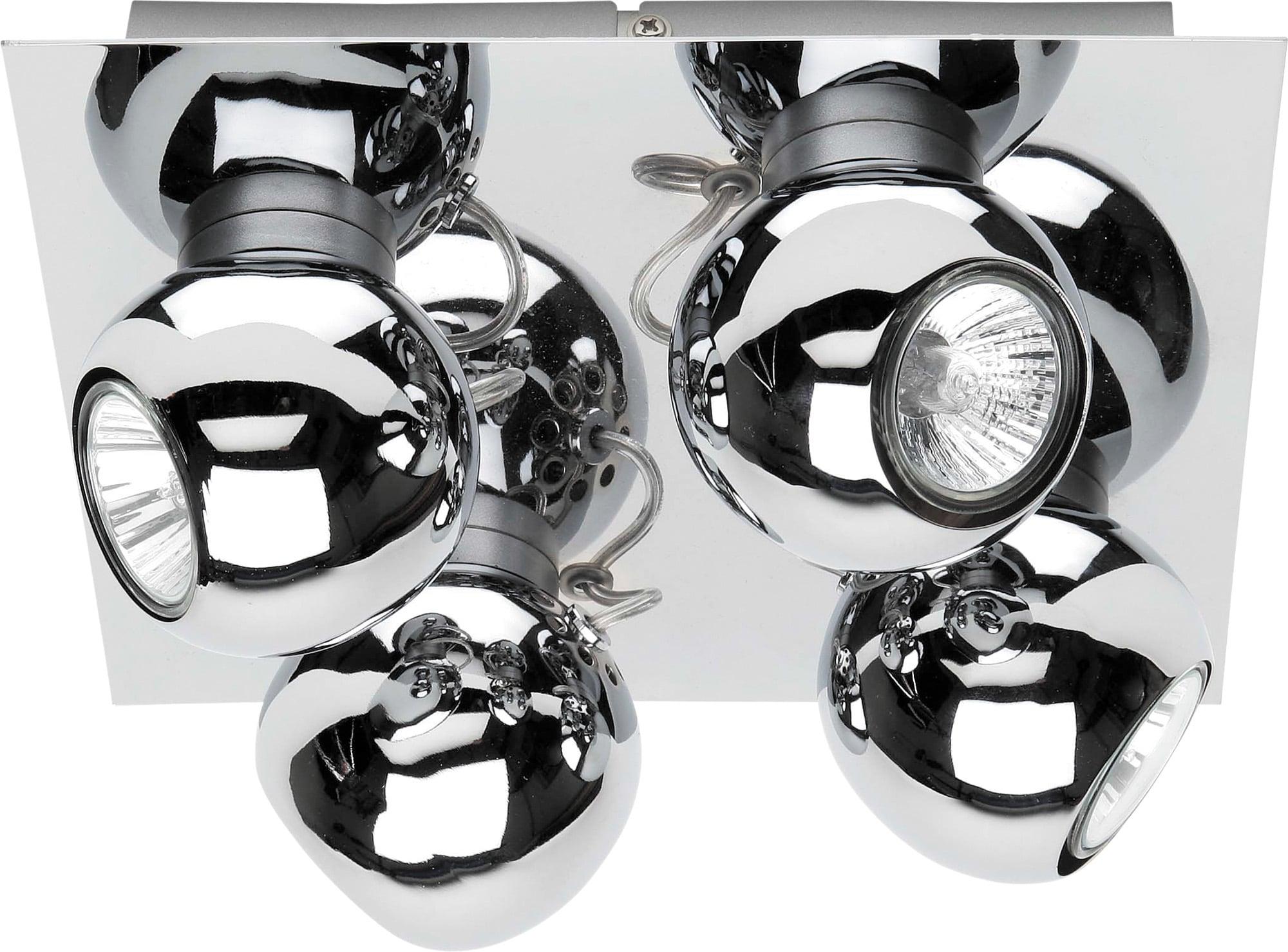 4-spot Ceiling Fixtures LED LEDs Sergio balls 4,5W