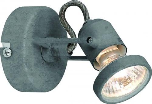 Wall lamp Concreto with Concrete GU10 50W