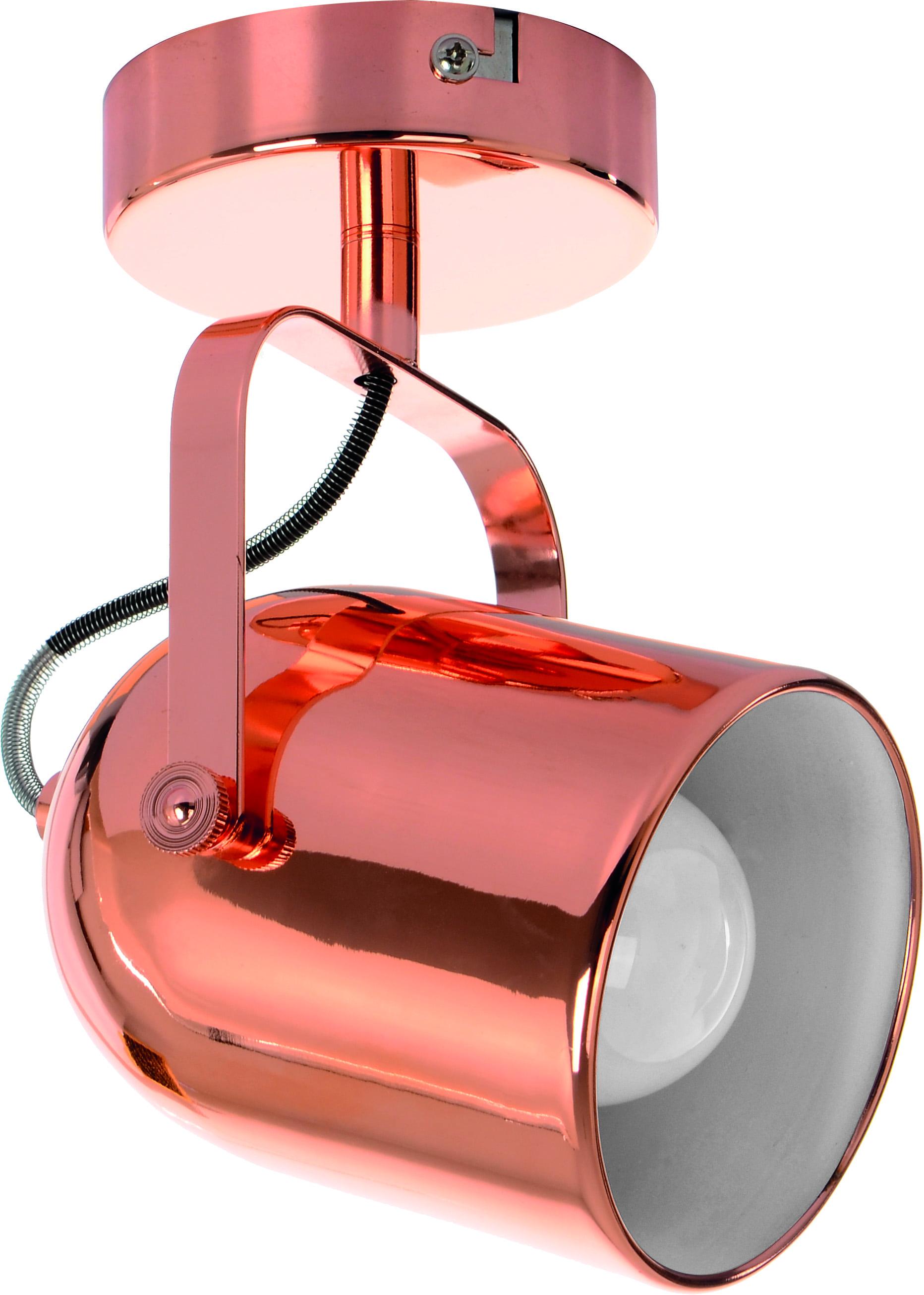 Sconce Reflector Inga copper E27 60W