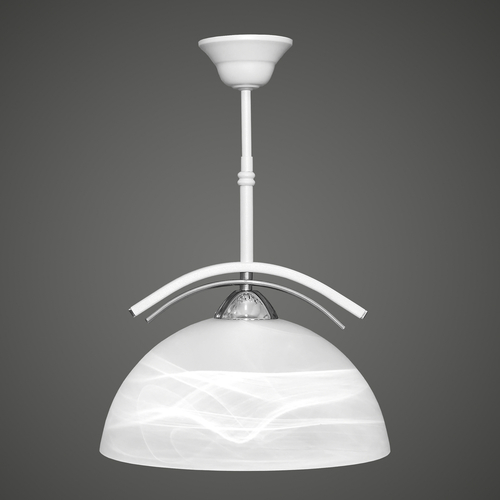 Ares hanging lamp overhang white