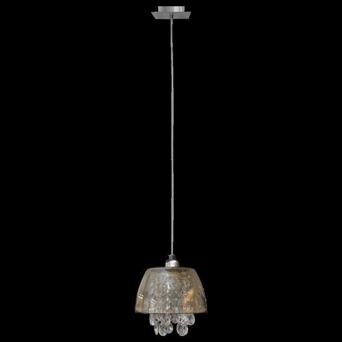 Ronin Crystal 1 graphite pendant lamp