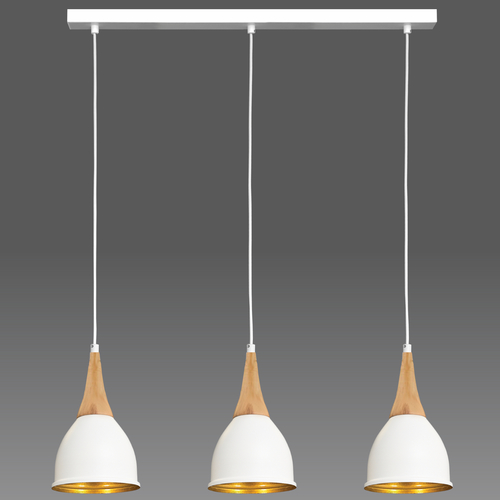 White Aria pendant lamp 3