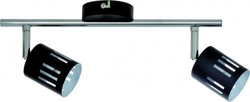 Reflektorki Two-point strip Ulrika black / chrome G9 28W