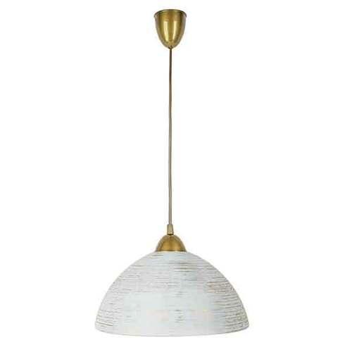 Gold sphere hanging lamp