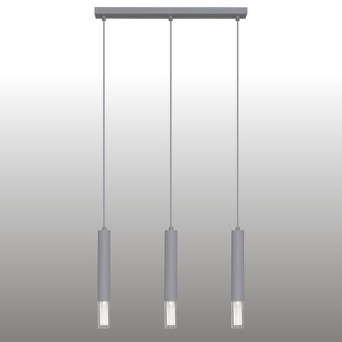 Gray Kuga pendant lamp 3 M strip