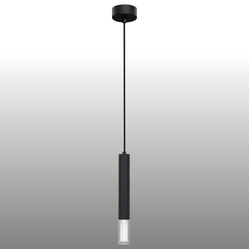Black Kuga hanging lamp 1 M