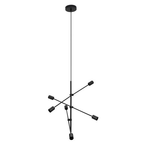 Black Rotor 6 pendant lamp