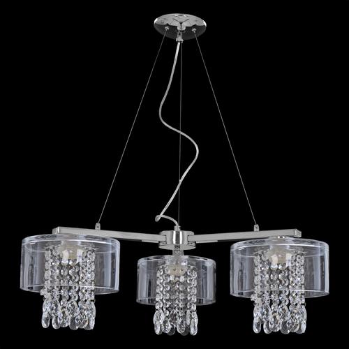 Hanging lamp Marco Transparent Crystal 3