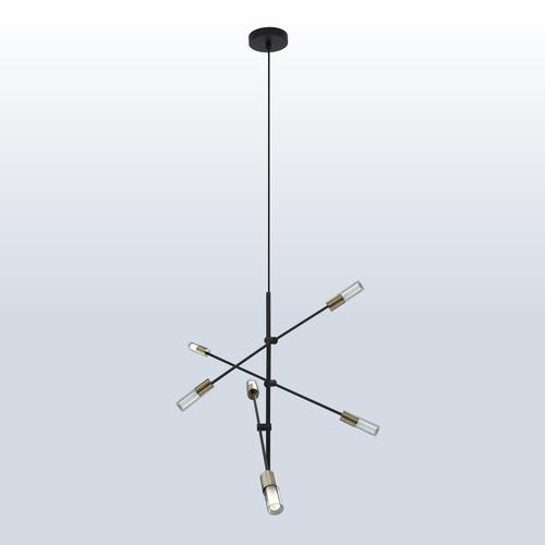 Hanging lamp Rotor 6 patina
