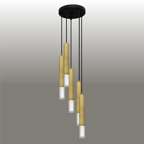 Hanging lamp Kuga 5 M patina