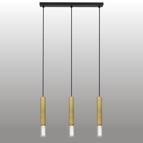 Hanging lamp Kuga 3 M patina strip