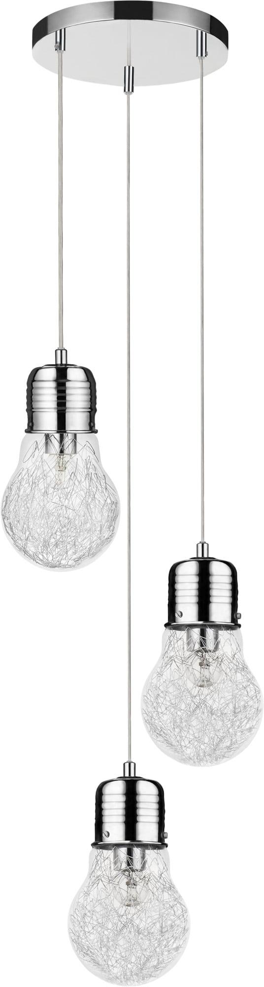 Industrial Bulb chrome E27 60W