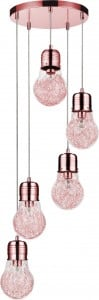 A five-point LIndustrial Hanging Bulb Bulb copper E27 60W small 0