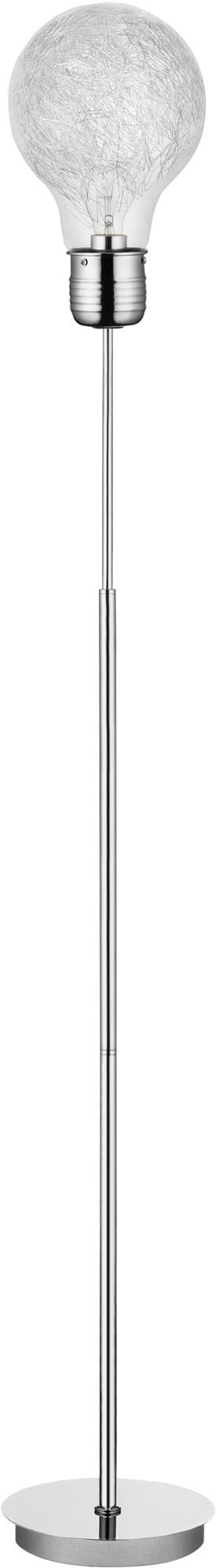 Floor lamp Bulb chrome E27 60W