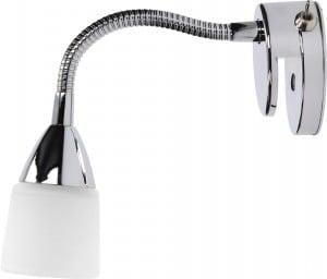 Chromowany Kinkiet Aquatic chrom/ biały G9 28W