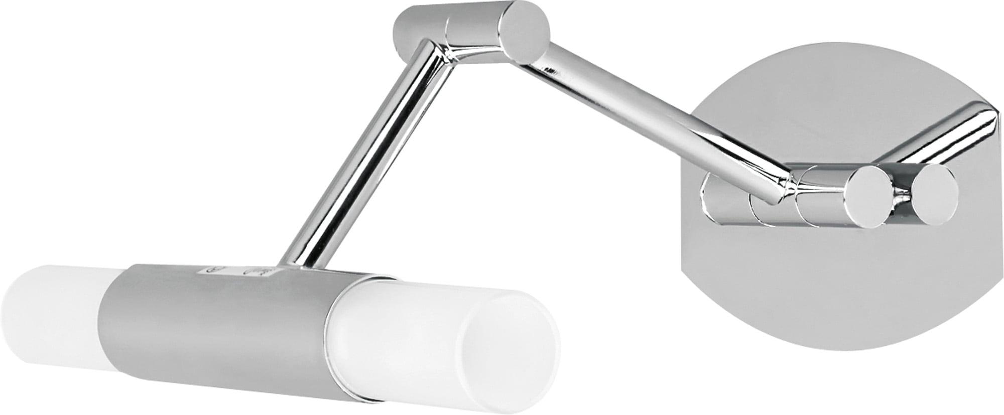 Chrome wall lamp with regulation Aquatic chrome / white G9 40W