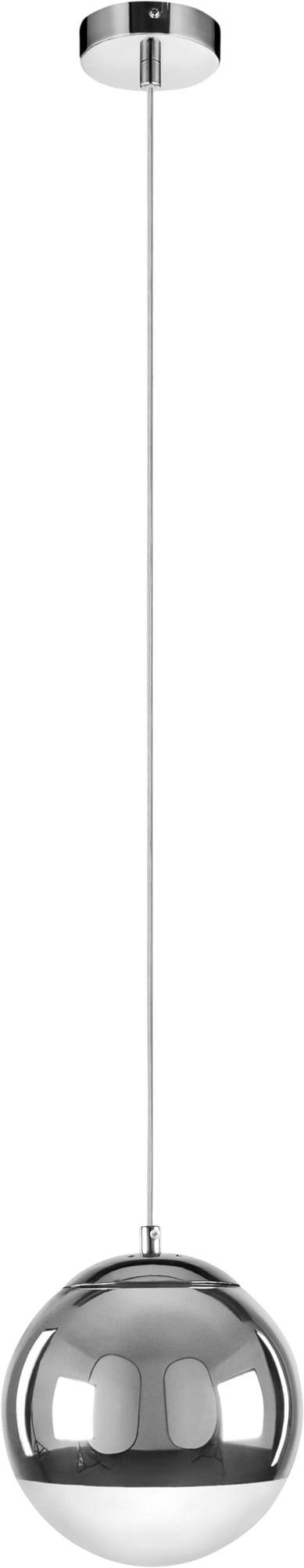 Single hanging lamp Gino chrome E27 60W
