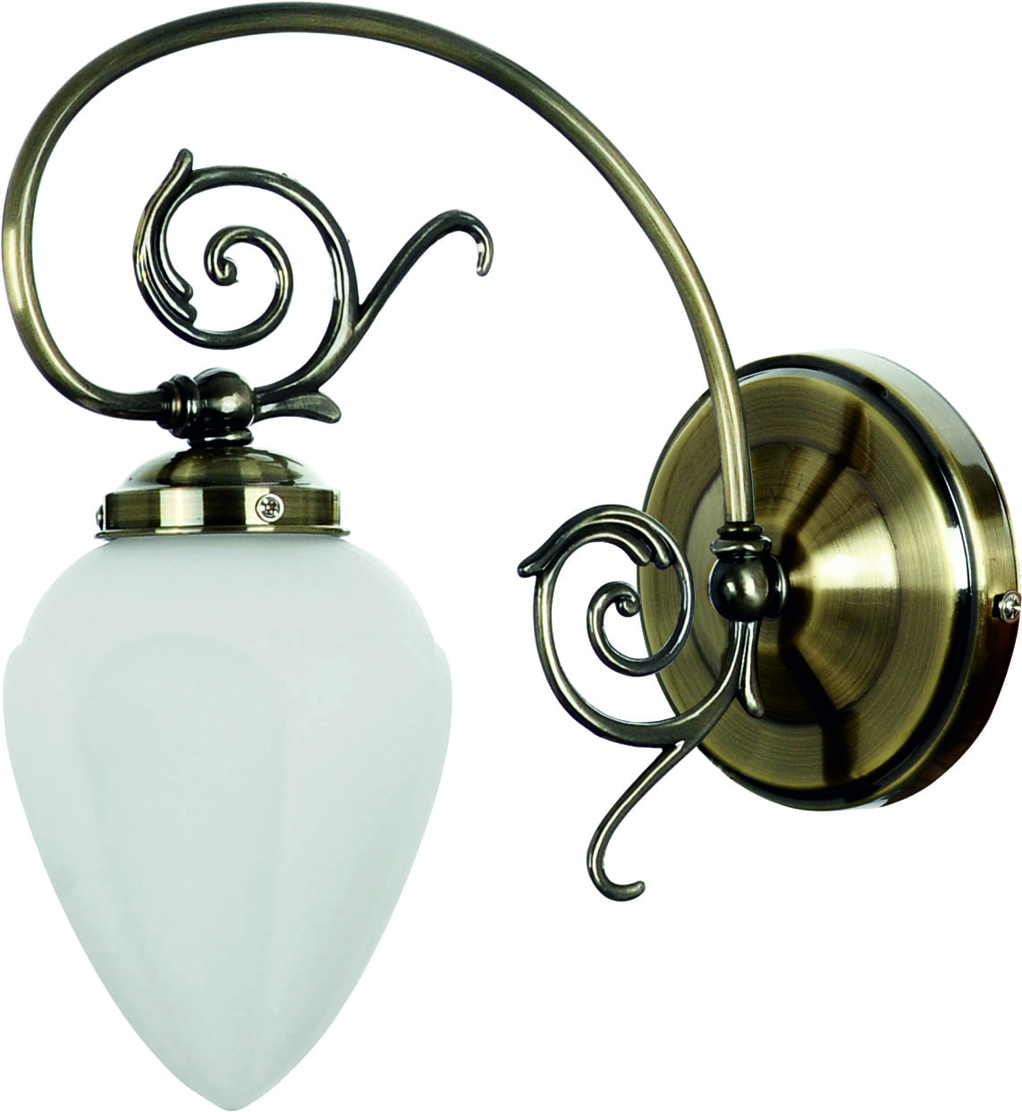 Classic Patina Wall Lamp for Boss's Living Room Patina E14 60W