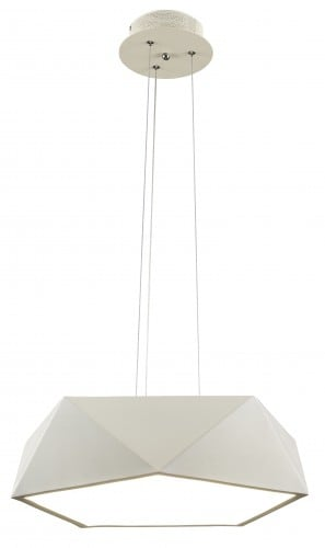 Loft pendant lamp Arca white LED 24W
