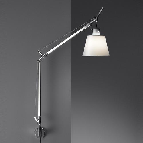 Wall lamp Artemide Tolomeo Basculante Wall 0947020A + A025150